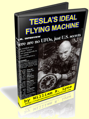Tesla's Ideal Flying Machine by William Lyne